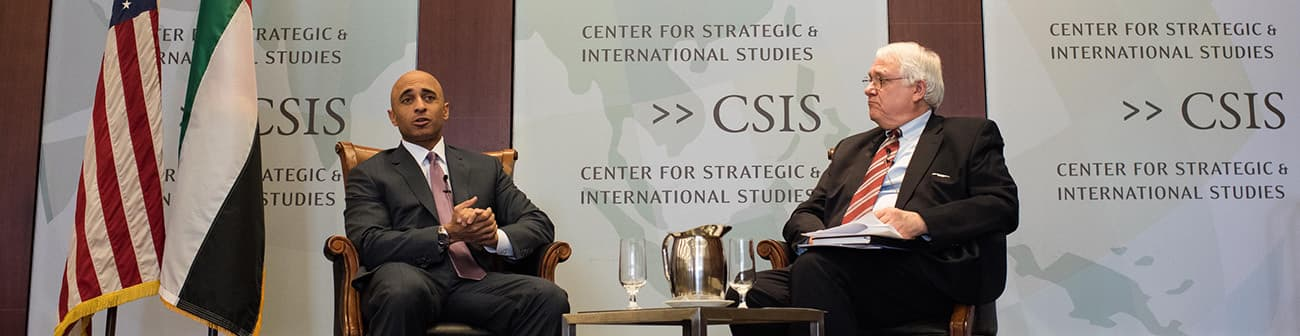 Remarks by Ambassador Yousef Al Otaiba